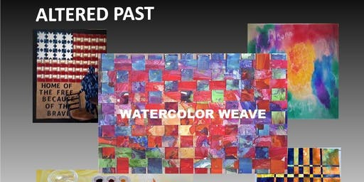 Altered Past: Watercolor Weave
