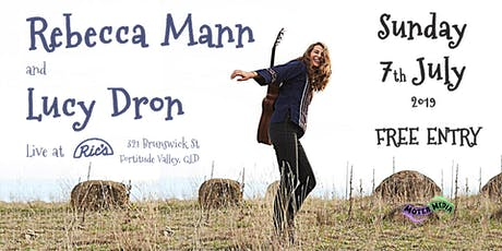 Rebecca Mann (ACT) & Lucy Dron | Live at Ric's tickets