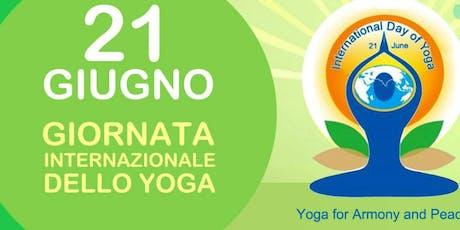 Lezioni gratuite per la Giornata Internazionale dello Yoga biglietti
