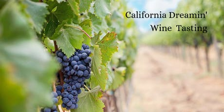 California Dreamin' Wine Tasting tickets