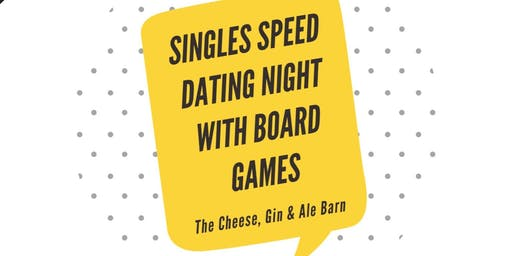 Singles Speed Dating Night - With Board Games