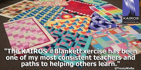 Kairos Blanket Exercise for Teens tickets