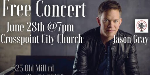 Free Jason Gray Concert!