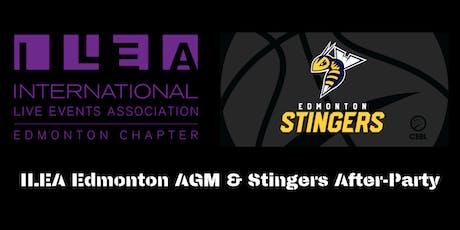 ILEA Edmonton AGM & Stingers After-Party tickets