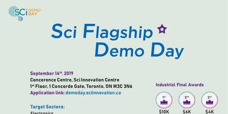 Sci Flagship Demo Day  tickets