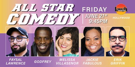 Melissa Villasenor,  Godfrey, and more - All-Star Comedy! tickets
