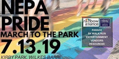 NEPA Pride: March to the Park 5K Walk/Run tickets