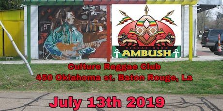 AMBUSH REGGAE BAND LIVE! ( Baton Rouge ) tickets