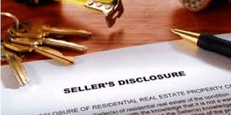 CE CLASS (2 Core Hours): Real Estate Sales Disclosures tickets