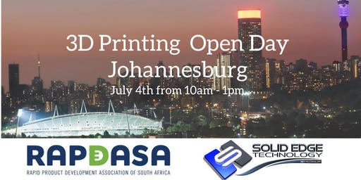 Johannesburg _ 3D printing Open Day