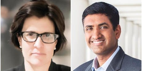 Kara Swisher and Congressman Ro Khanna in Conversation tickets