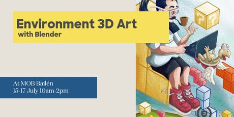 Introducción al Environment Art 3D mobile con Blender tickets
