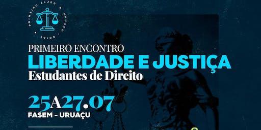 ELJED - I ENCONTRO LIBERDADE E JUSTIÇA DOS ESTUDANTES DE DIREITO