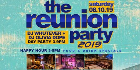 The Reunion Party (Hofstra University 2000 - 2015) tickets