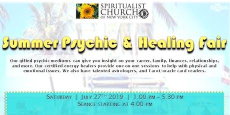 Summer Psychic and Healing Fair tickets