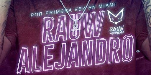 Rauw Alejandro en Miami por primera vez
