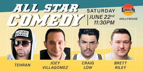 Craig Low, Brett Riley, Joey Villagomez, Tehran - All-Star Comedy tickets