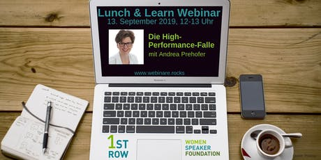 "Live-Webinar ""Die High-Performance-Falle"" mit Andrea Prehofer Tickets"
