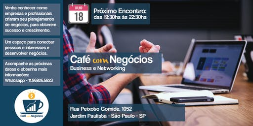 Café com Negócios - 2° lote