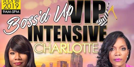 Boss'd Up VIP Intensive tickets