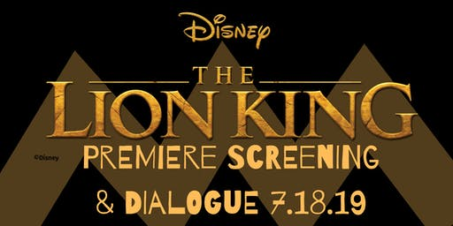 The Lion King Movie Premiere Screening