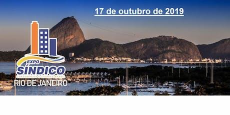 EXPOSINDICO - RIO DE JANEIRO da CONASI bilhetes