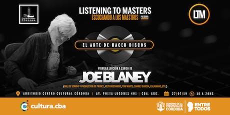 Joe Blaney en Listening to Masters  entradas