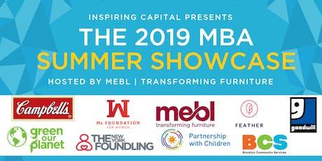 Inspiring Capital MBA Summer Showcase 2019  tickets