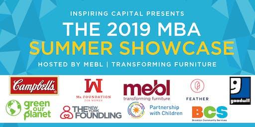 Inspiring Capital MBA Summer Showcase 2019
