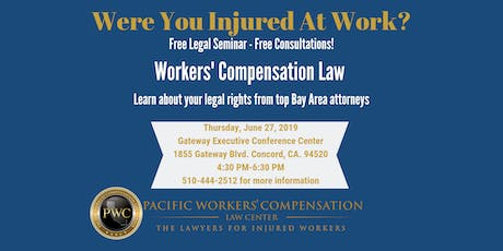 Free Workers' Comp Legal Seminar tickets