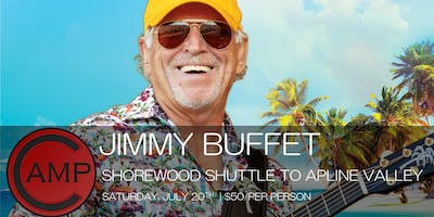Camp Bar SHOREWOOD - Jimmy Buffet Shuttle to Alpine