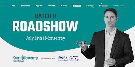 Startupbootcamp Scale FinTech | Batch II Roadshow @ Monterrey entradas