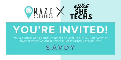 MAZE Services x WHATSHETECHS tickets
