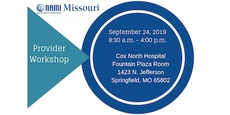 NAMI Missouri Provider Workshop tickets