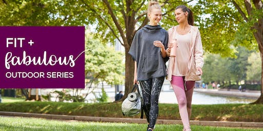 Fit + Fabulous Outdoor Series at CambridgeSide featuring Yoga
