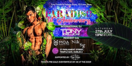 Paradiso - 1st Anniversary