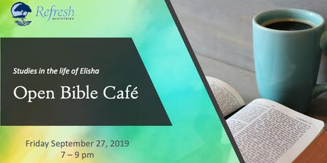 Open Bible Cafe tickets