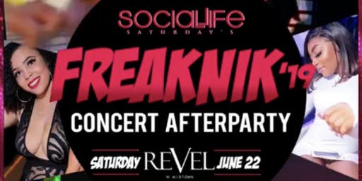 FREAKNIK CONCERT AFTER PARTY ATLANTAS #1 NEW HOT SPOT REVEL WEST OF MIDTOWN