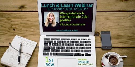 "Live-Webinar ""Internationale Jobprofile"" mit Linda Ostermann"