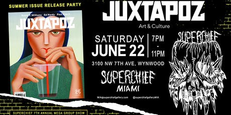 Party Museum Preview & Juxtapoz Summer Issue Release Party tickets