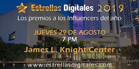 PREMIOS ESTRELLAS DIGITALES 2019 tickets