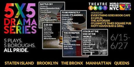 2018/2019 5X5 Drama Series: 61 Local, Brooklyn tickets