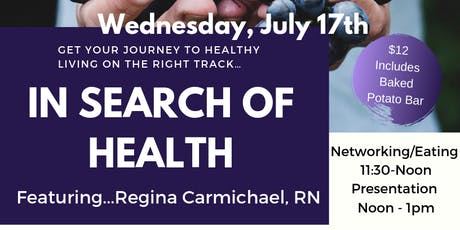 In Search of Health - Webster tickets