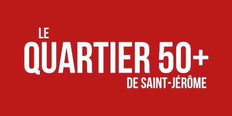 """Conférence """"Portrait des aînés de la MRC Rivière-du-Nord"""" billets"""