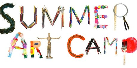 Summer Art Day Camp - day 1 - Art Show prep & participation tickets