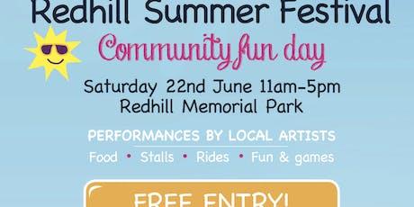 Redhill Summer Festival  tickets