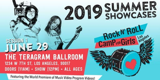 Rock n' Roll Camp for Girls L.A.
