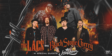 The Lacs & Black Stone Cherry tickets