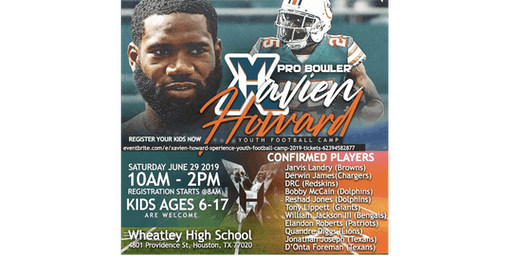 Xavien Howard's 2nd Annual Xperience Football & Youth Camp