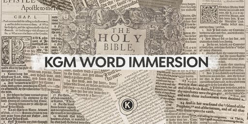 KGM Word Immersion